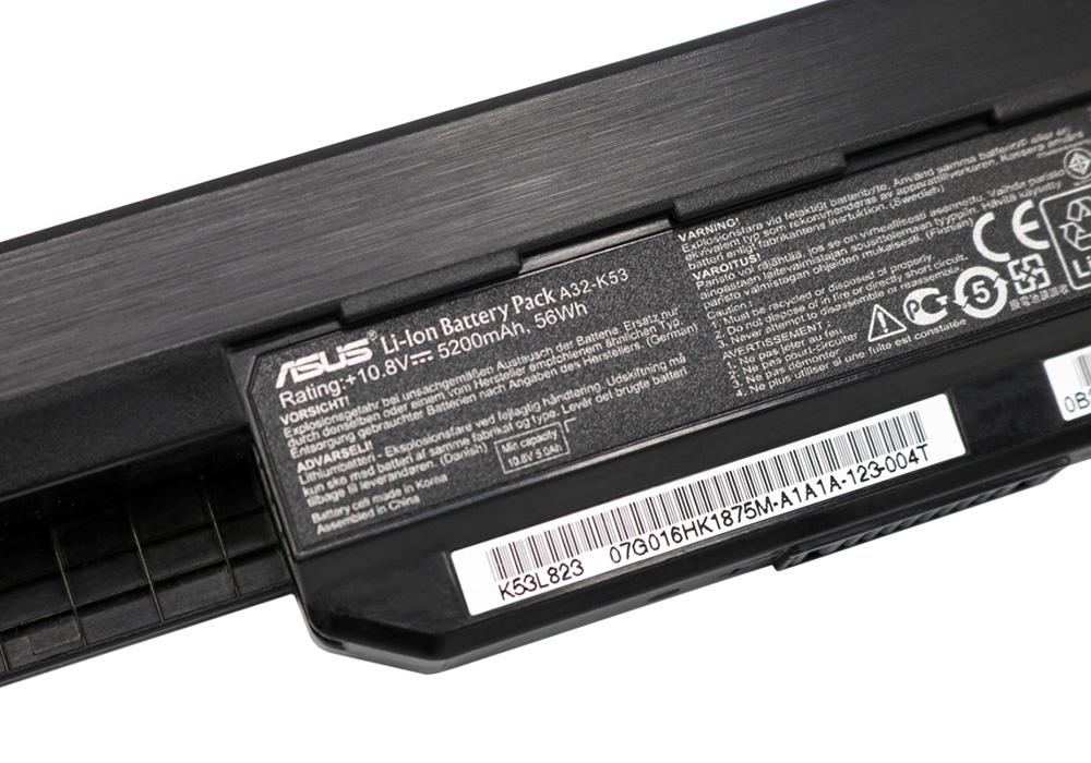 مشخصات باتری لپ تاپ من چیست!