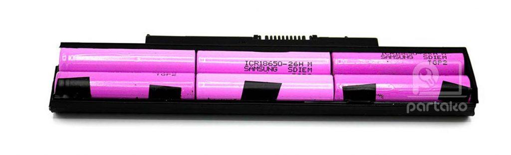 تست سلول باتری لپ تاپ