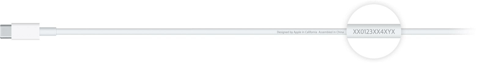 کابل اورجینال USB C اپل